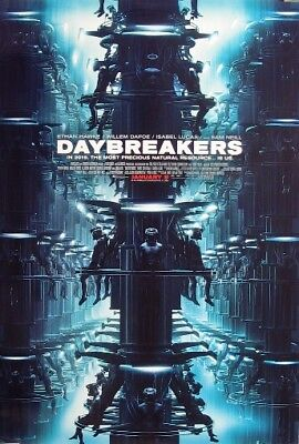 DAYBREAKERS great original 27x40 D/S movie poster (s01)