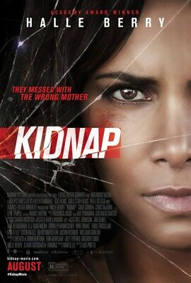 KIDNAP great original D/S 27x40 movie poster (s01)