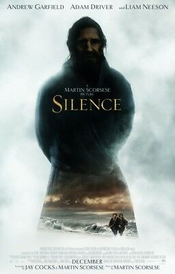 SILENCE great original D/S 27x40 movie poster (s01)
