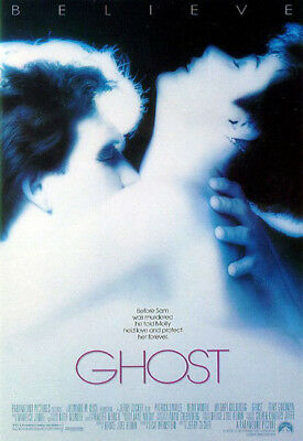 GHOST great original ROLLED 27x40 movie poster 1990 (s04)