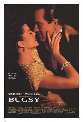 BUGSY great original 27x40 D/S movie poster LAST ONE (s04)