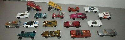 Vintage Lot Of 18 Hot Wheels Cars Snake And Mongoose Others Red Lines Look  !!!