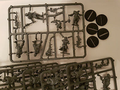 Warhammer 40K Chaos Space Marines 5 mal Cultists / Kultisten