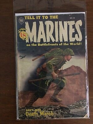 Tell it to the Marines 10 VG Golden Age War!!!