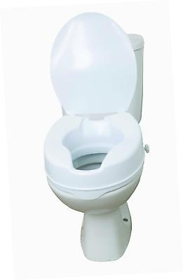 "Drive DeVilbiss Healthcare 6"" Raised Toilet Seat with Lid"