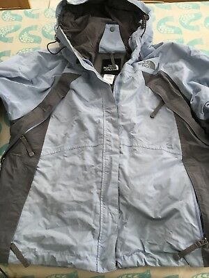... spain ladies north face hyvent ski jacket pale blue and grey. waterproof.  large. ireland product image the ... a1b9b4ae4