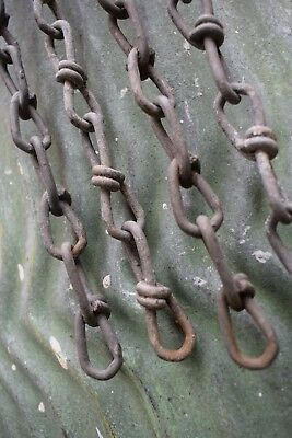 Vintage Reclaimed Industrial Lighting Chain old original lamp light factory hook
