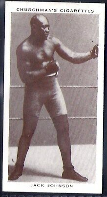 Churchman-Boxing Personalities-#20- Jack Johnson