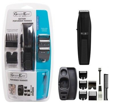 Wahl GroomEase Performer Battery Operated Stubble & Beard Trimmer Kit 5537-6217