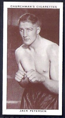 Churchman-Boxing Personalities-#32- Jack Petersen