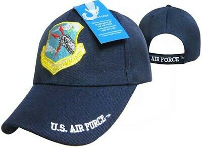 US Air Force Strategic Air Command Blue USAF Embroidered Ball Cap CAP541 Hat
