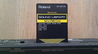 Roland Sound Library SN-R8-04 f. R-8 R8 Electronic TR-808 Sounds  Drumcomputer