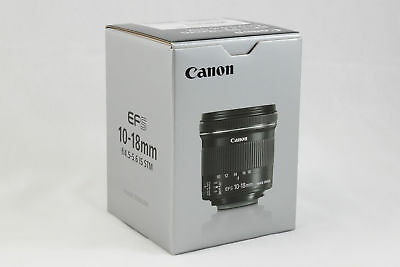 Canon EF-S 10-18mm f/4.5-5.6 IS STM Lens (Brand New, US Warranty) efs