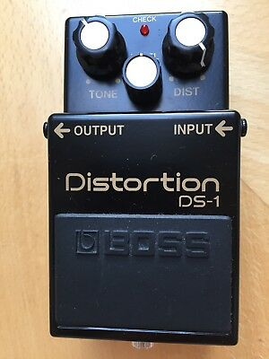 Boss DS1 Distortion 40th Anniversary Limited Edition DS-1 Fuzz Overdrive