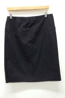 """A Pea in the Pod Black Maternity Skirt Size Large Length 23"""" Career Professional"""