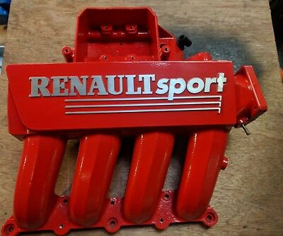 Renault Clio sport 172 red inlet manifold. cup phase 2