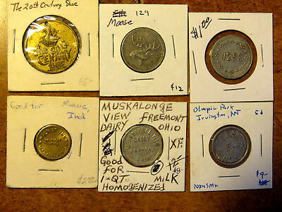 Group Of Six (6) Different Good For Tokens Trade Tokens Lot #4 Of 5