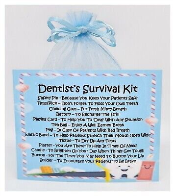 Dentist's Survival Kit - The Perfect Greetings Card Alternative!