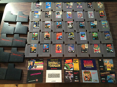 Large Lot of 35 Games (Nintendo, NES) -- Uncleaned -- Untested   ---- AS IS ----