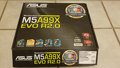 Asus M5A99X EVO R2.0, gebrauchts Motherboard