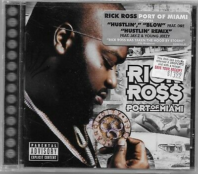 Port of Miami [PA] by Rick Ross CD Aug-2006 Def Jam USA
