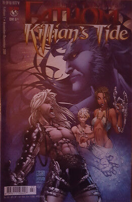 Michael Turner's Fathom Nr. 7 Infinity Top Cow Witchblade Darkness Tomb Raider
