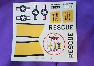 Revell Decal Sikorsky H-19 Rescue Helicopter 13893