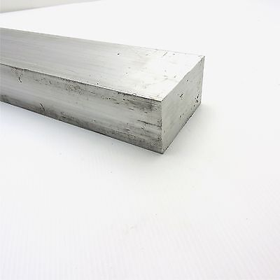 "2"" x 3.5"" Aluminum Solid 6061 FLAT BAR 6"" Long new mill stock sku L403"