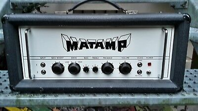 Matamp GT 100 early 70s Tube Amp Orange Doom Sunn Sleep Model