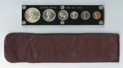 1960 Canada Proof like set in Capital Plastic Holder - Lower Price!