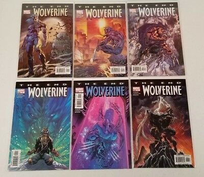 Wolverine The End 1 2 3 4 5 6 Complete Set Run Lot 1-6 Marvel X-Men Old Man