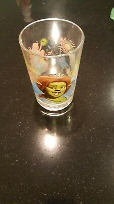 McDonald's Shrek the third glass