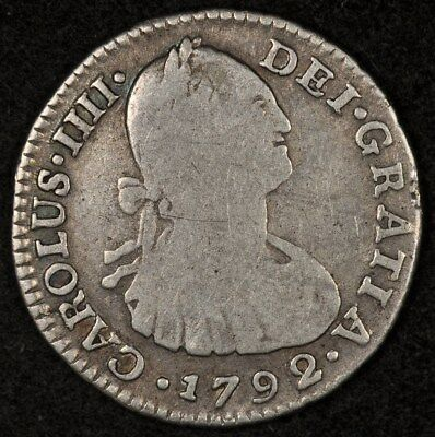 1792-Nr Jj Colmbia Real Km-58 Vg/f Very Scarce 1St Year Of Type