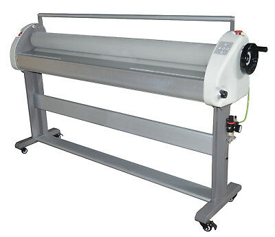 63In Automatic/Manual Cold Laminator with Air Lifting and Aluminum Working Bench