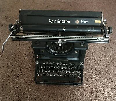 Vintage Remington Rand Typewriter, Large Carriage Working Condition