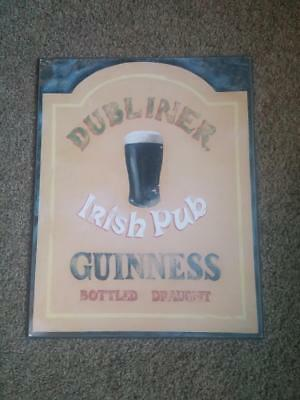 Guinness Wall Plaque
