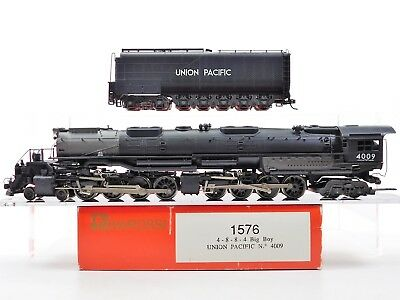 HO Scale Rivarossi 1576 UP Union Pacific Big Boy 4-8-8-4 Steam Locomotive #4009