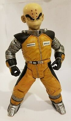 """DRAGON BALL Z KRILLIN SPACE SUIT Movie Series Loose 6.5"""" Action Figure 2002"""