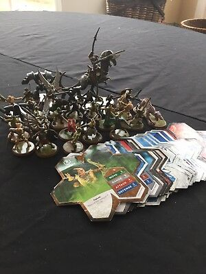 Heroscape Extra Figures And Cards Lot