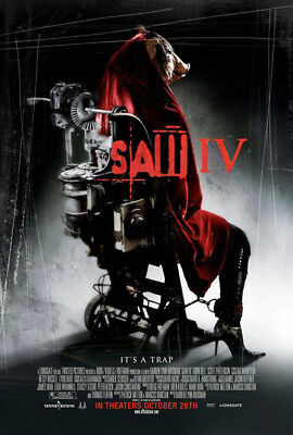 SAW IV great original D/S 27x40 movie poster (s001)
