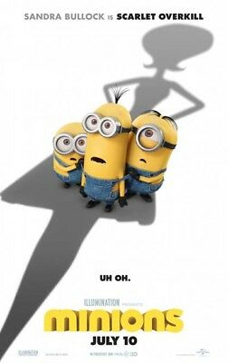 MINIONS great original D/S 27x40 movie poster (s001)