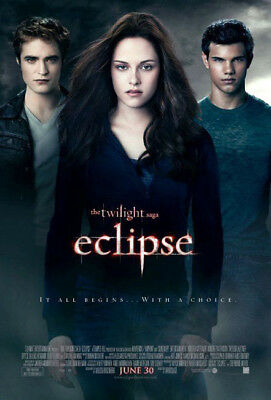 THE TWILIGHT SAGA: ECLIPSE great original 27x40 D/S movie poster (s001)