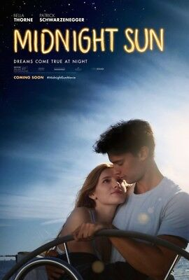 MIDNIGHT SUN great original 27x40 D/S movie poster LAST ONE (008)