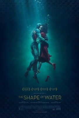 THE SHAPE OF WATER great original 27x40 D/S movie poster - only 2 left (008)