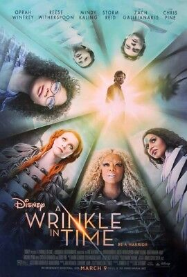 A WRINKLE IN TIME great original 27x40 D/S movie poster (s001)