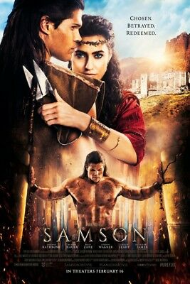 SAMSON great original 27x40 D/S movie poster (007)