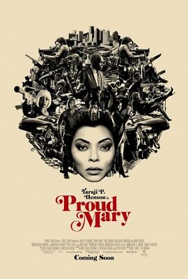 PROUD MARY great original 27x40 D/S movie poster (s001)
