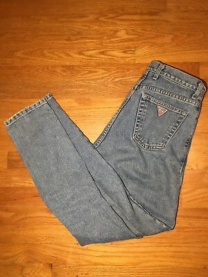 Rare Vintage Guess Jeans Size 28 Made in USA Blue Jeans