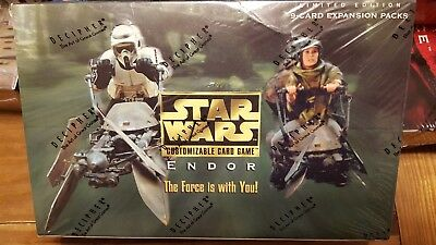 NEW Star Wars CCG Decipher Limited Edition - Endor Booster Box Factory-Sealed