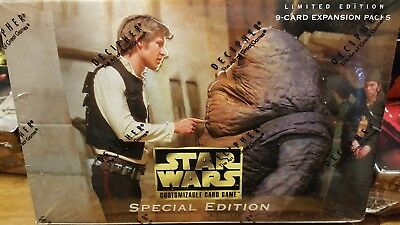 NEW Star Wars CCG Decipher Special Edition Limited Ed Booster Box Factory-Sealed